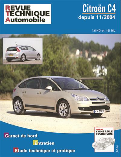 Revue technique automobile 697.1 Citroën C4