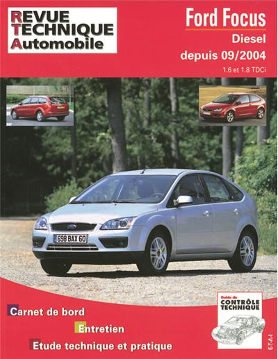 Revue technique automobile 698.1 Focus 1.6/18tdci