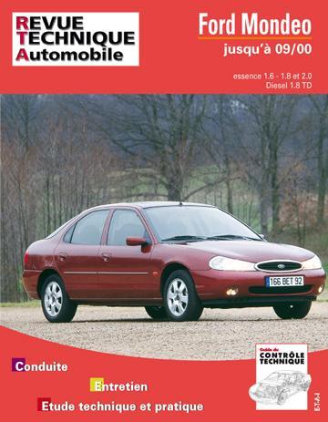 Revue technique automobile 723.3 Ford Mondeo E&D&TD (93-97)