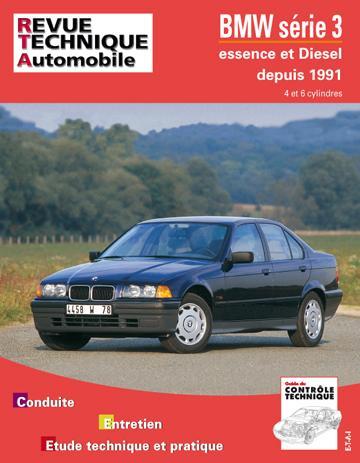 Revue technique automobile 725.1 BMW série 3 E (91/93) & D (91/96) TD