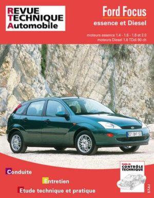 Revue technique automobile 738.1 Ford Focus essence et Diesel