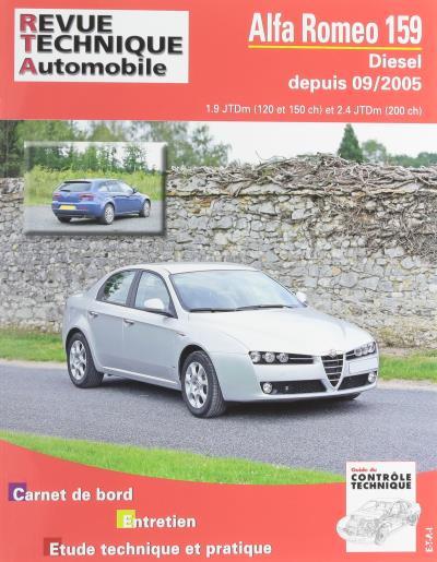 Revue technique automobile b710.6 Alfa Romeo 159