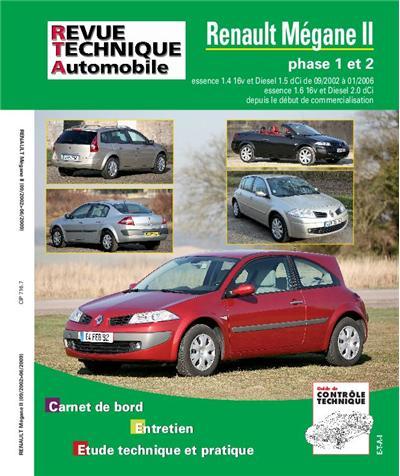 Revue technique automobile b716.7 Megane II