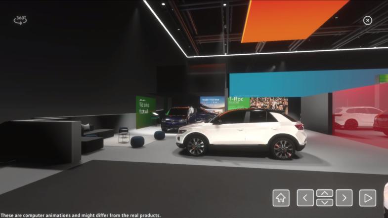 Virtual Motor Show salon de l'automobile virtuel