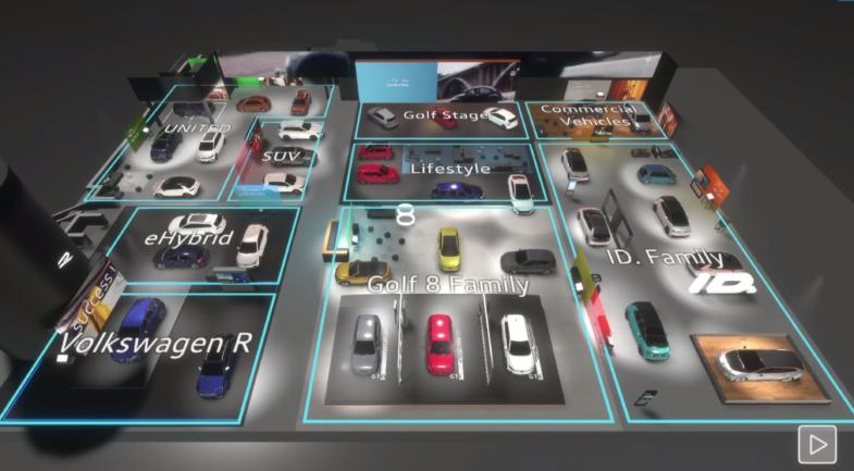 salon de l'automobile virtuel