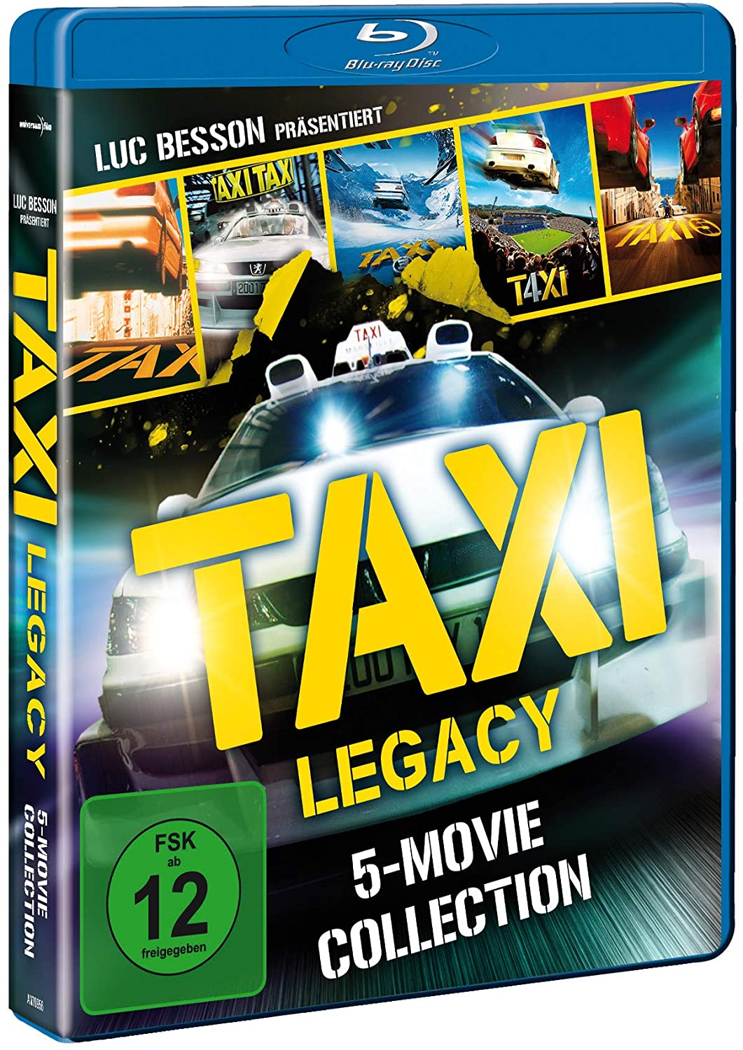 Taxi Coffret collector 5 films