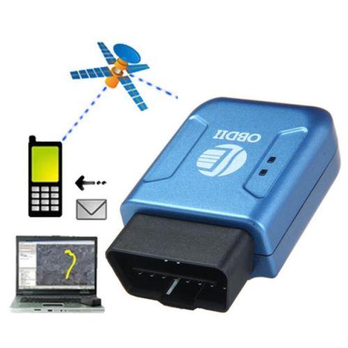 Temps GPS OBDII OBD2 GPRS réel Tracker voiture Système de suivi des véhicules Geo-barrière