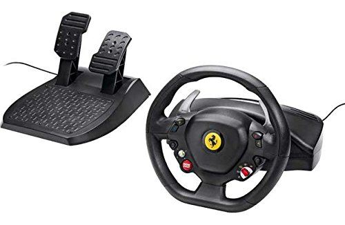 Volant Thrustmaster Ferrari 458 Italia Xbox 360 et PC Noir