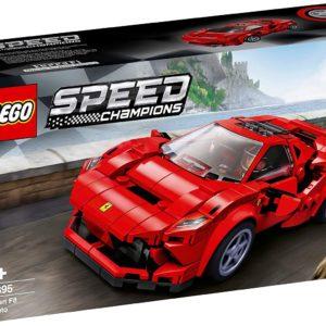 LEGO Le racer Speed Champions Ferrari F8 Tributo avec figurine de conducteur