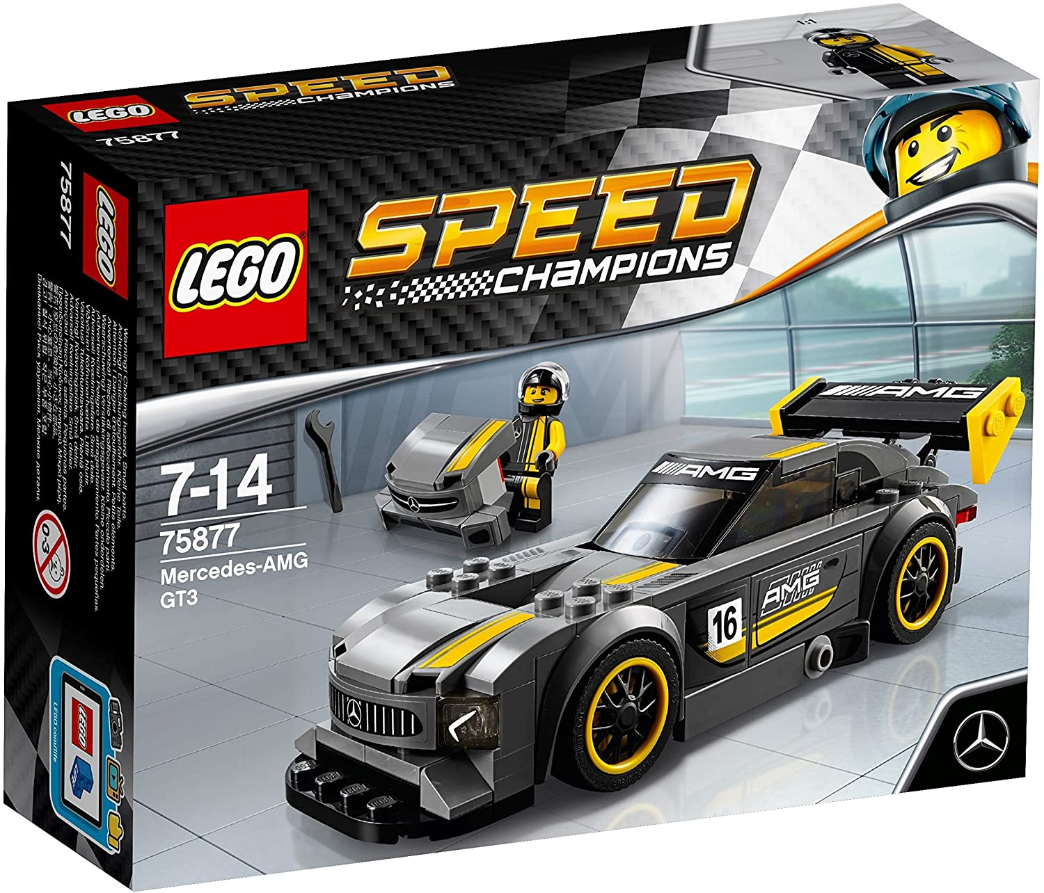 Lego Speed Champions - Mercedes-AMG GT3