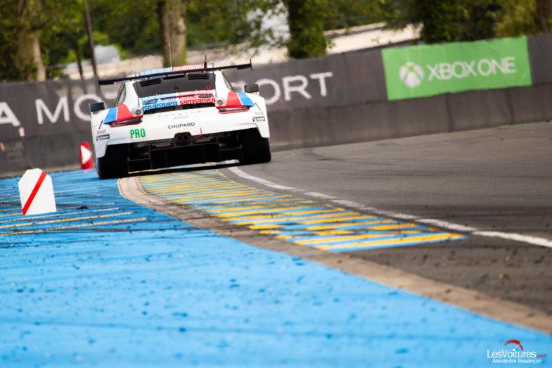 Deux Porsche en moins aux 24 Heures du Mans 2020