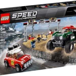 LEGO® Speed Champions 75894 Mini Cooper S Rally 1967 et Mini John Cooper Works Buggy 2018