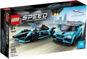 LEGO® Speed Champions 76898 Formula E Panasonic Jaguar Racing GEN2 & Jaguar I-PACE eTROPHY