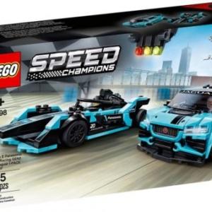 LEGO® Speed Champions 76898 Formula E Panasonic Jaguar Racing GEN2 et Jaguar I-PACE eTROPHY