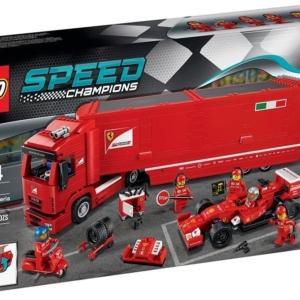 LEGO® Speed Champions F14 T et Son Camion Scuderia Ferrari