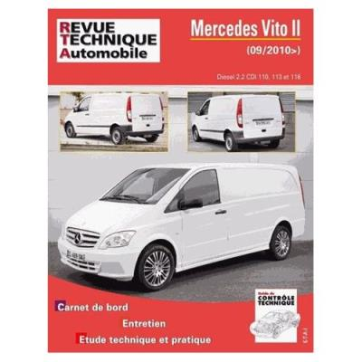 Mercedes Vito Ii Diesel 2.2 Cdi 110, 113 Et 116 Revue Technique Automobile