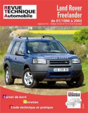 Revue Technique Automobile, TAP422 Land Rover freelander de 01/1998 à 2003