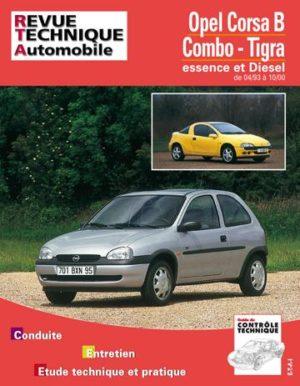 Revue technique automobile 563.4 Opel Corsa B & Tigra E/D (1993 A 2000)