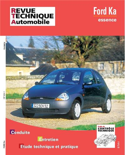 Revue technique automobile 604.1 Ford Ka essence