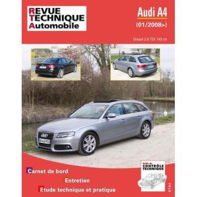 Rta B757,5 Audi A4 Iii 2,0 Tdi 143 Ch 01/2008>