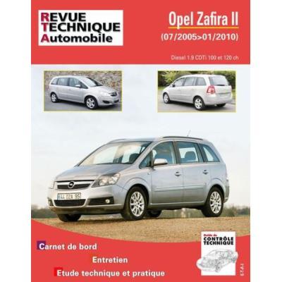 Rta B758 Opel Zafira Ii Phase 1 Et 2 1,9 Cdti