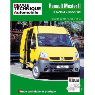 Rta B760 Renault Master Ii Phase2 2,5Dci 11/03>04/10