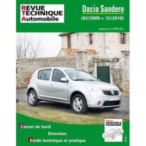 Rta B761 Dacia Sandero 1,4I Mpi Gpl 03/2009>12/2010