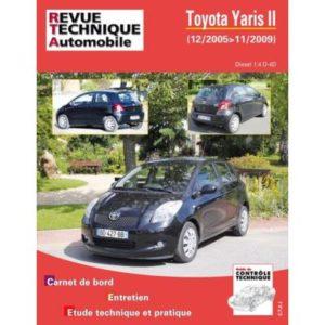 Rta B766 Toyota Yaris Ii 1,4 D4D 90Ch 12/05>11/09