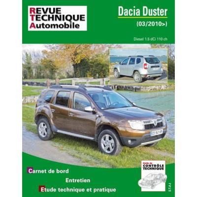 Rta B769 Dacia Duster 1,5 Dci 110Ch Depuis 03/2010