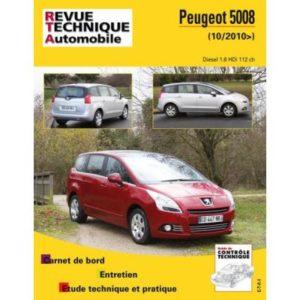 Rta B770,5 Peugeot 5008 Dv6C 1,6 Hdi 110 8V