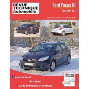 Rta B771 Ford Focus Iii 1,6 Tdci 95/115 Ch Bvm6