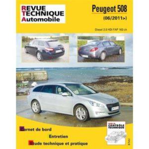 Rta B780,5 Peugeot 508 (06/2011>) 2,0Hdi 163Ch