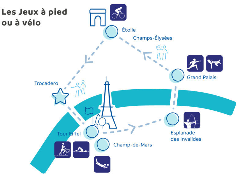 Paris 2024 Anne Hidalgo pistes cyclables