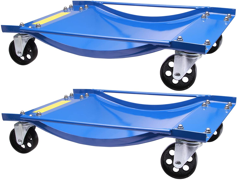 4 chariots de manutention pour voiture