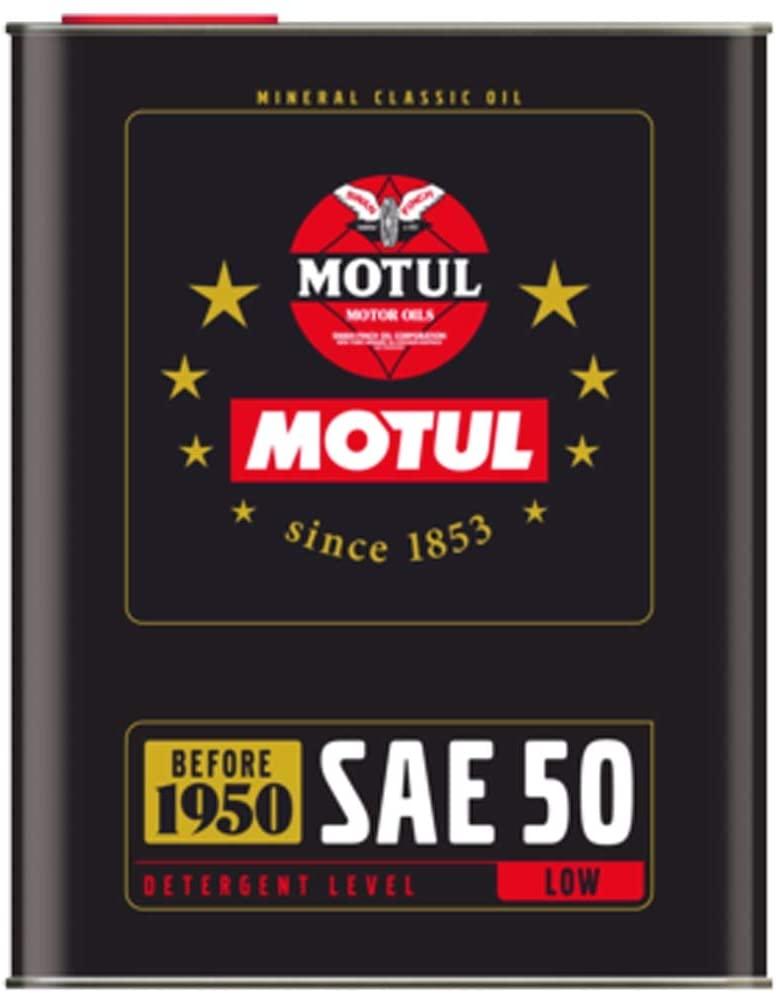 Huile moteur Motul Classic Oil SAE 50