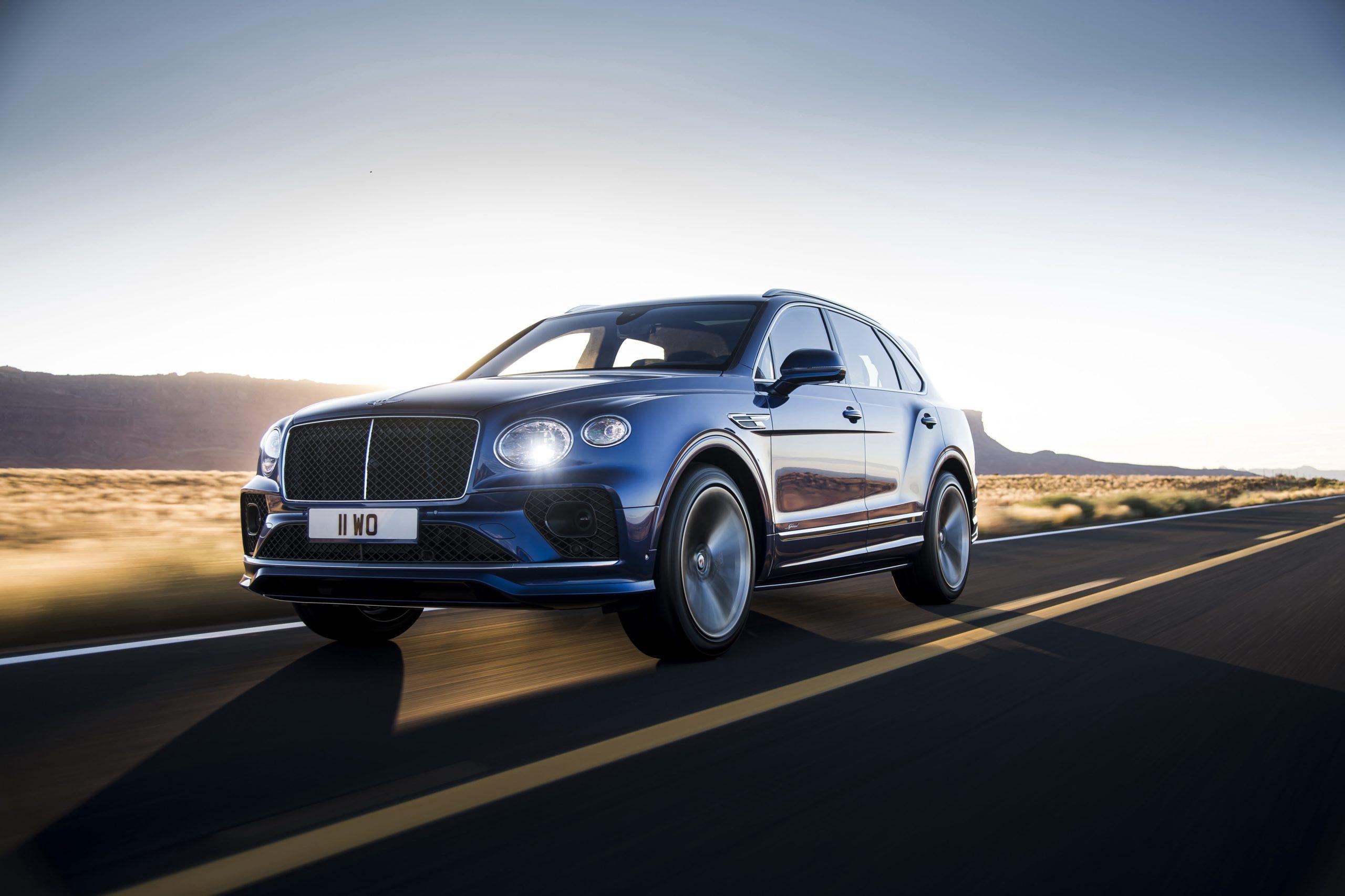 Bentley Bentayga Speed : summum du luxe et de puissance