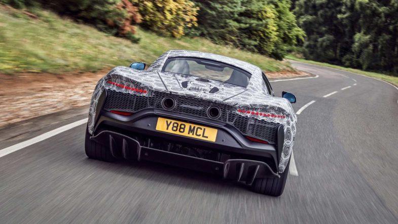 McLaren hybride