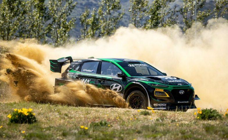 Hyundai Kona EV Rally Car