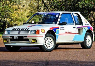 Peugeot 206 Turbo 16