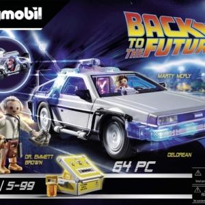 Playmobil Retour vers le futur avec Delorean