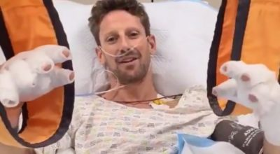 Romain Grosjean accident