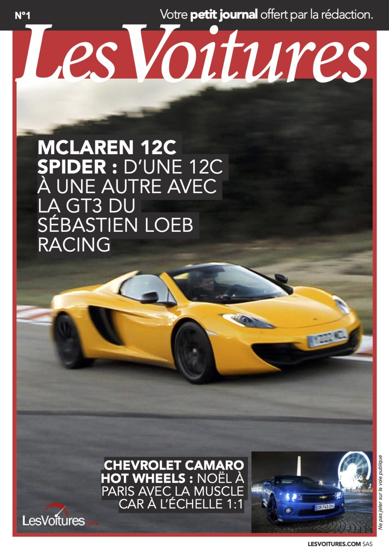 1 – McLaren 12c & Camaro Hot Wheels