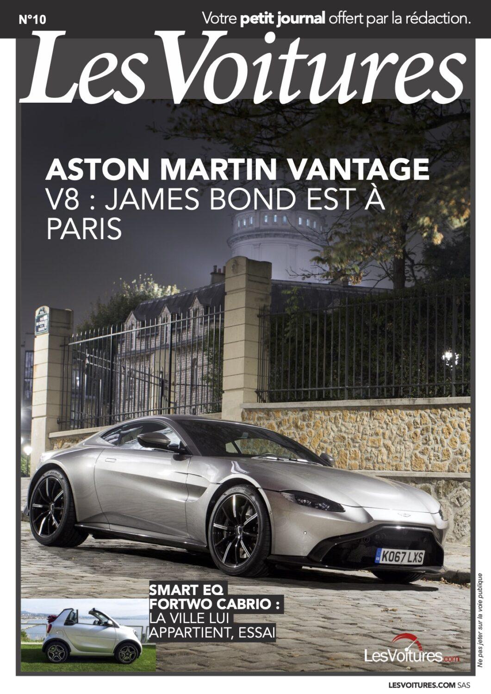 10 – Aston Martin Vantage & Smart Fortwo Cabrio EQ