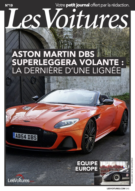19 – Aston Martin DBS et ÉQUIPE EUROPE