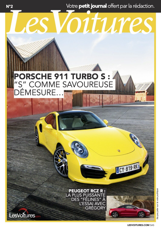 2 – Porsche 911 Turbo S & RCZ R 2014