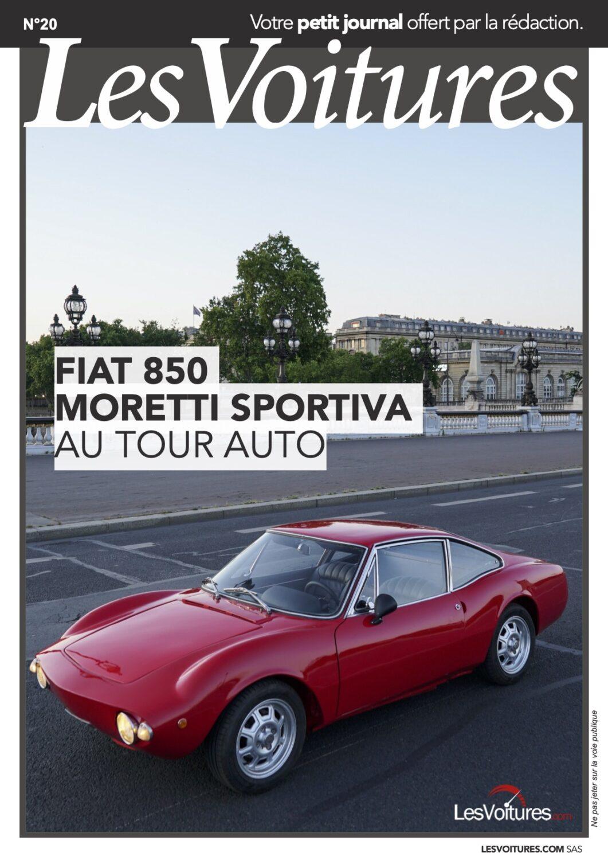 20 – Fiat 850 Moretti Sportiva