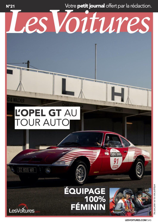 21 – Opel GT au Tour Auto 2020