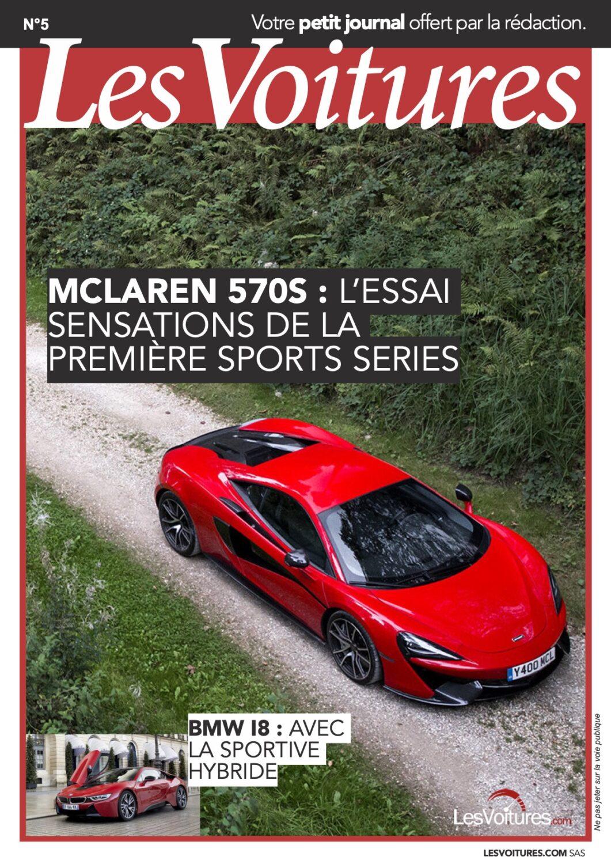5 – McLaren 570s & BMW i8 2016