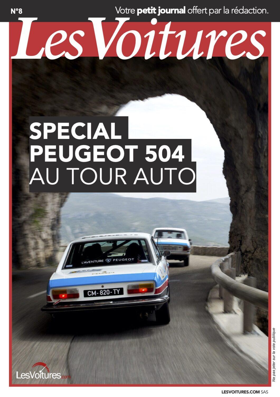 8 – Tour Auto Peugeot 504 2018