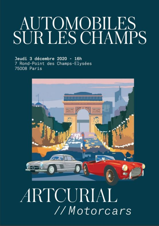 Automobiles sur les Champs